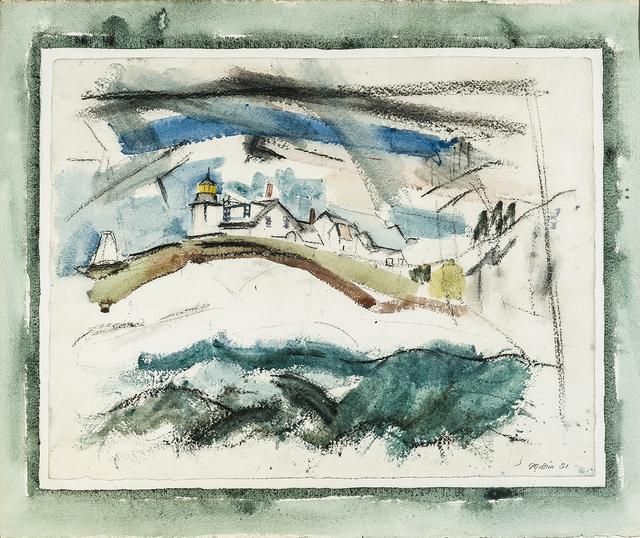 , 'Lighthouse, Stonington, Maine,' 1921, Hirschl & Adler Modern