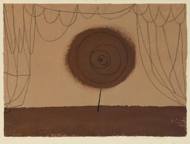 , 'Eine Blume tritt auf (A Flower Performs),' 1934, Beck & Eggeling