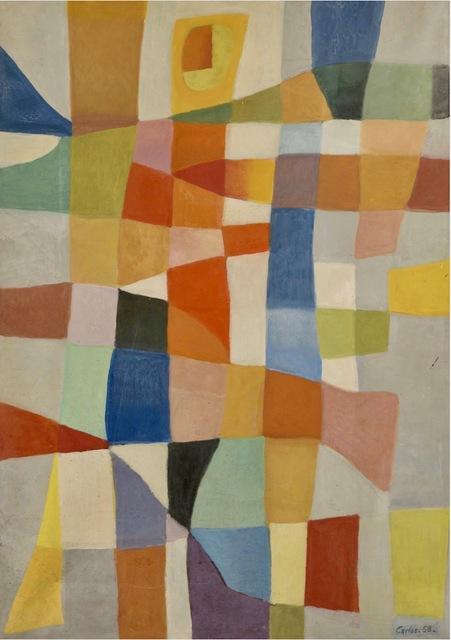 Carlos Carnero, 'K6', 1958, Painting, Oil on canvas, Galería de las Misiones