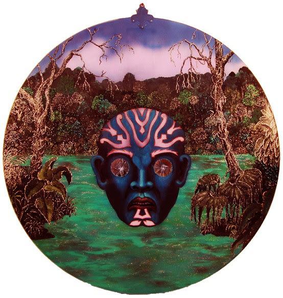 , 'Grande Masque,' 2015, Lyle O. Reitzel