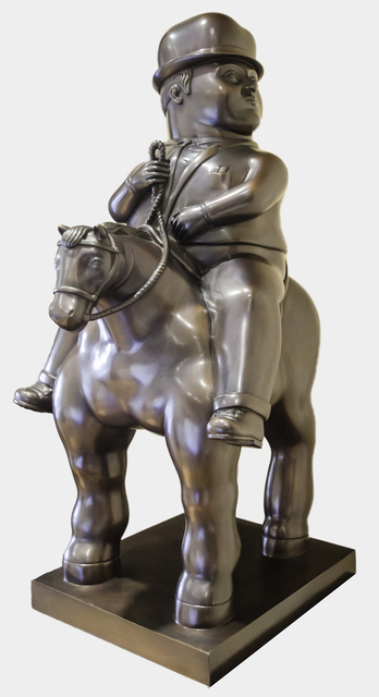 , 'Man on Horse,' , David Benrimon Fine Art