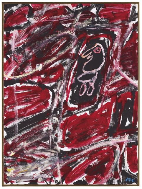 Jean Dubuffet, 'Site avec un personnage', 1981, Opera Gallery