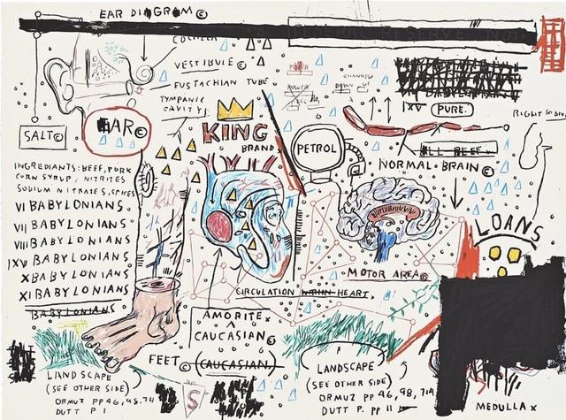 Jean-Michel Basquiat, 'King Brand', 1982-1983/2019 , John Wolf Art Advisory & Brokerage