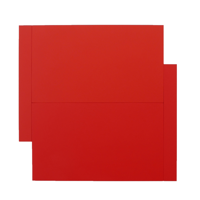 , 'Shift – Red on Red,' 2016, Peter Blake Gallery