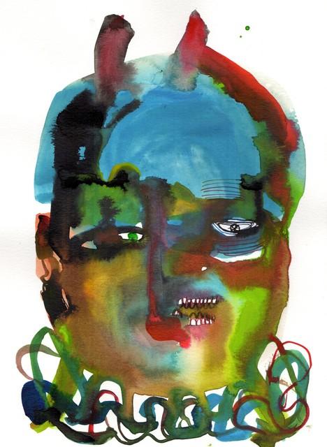 Wole Lagunju, 'African head of state I', 2018, Ed Cross Fine Art