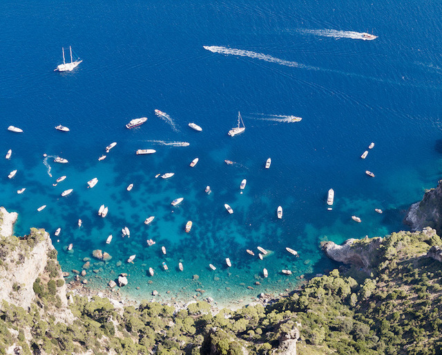 , 'Yachts From Monte Solaro,' , Madison Gallery