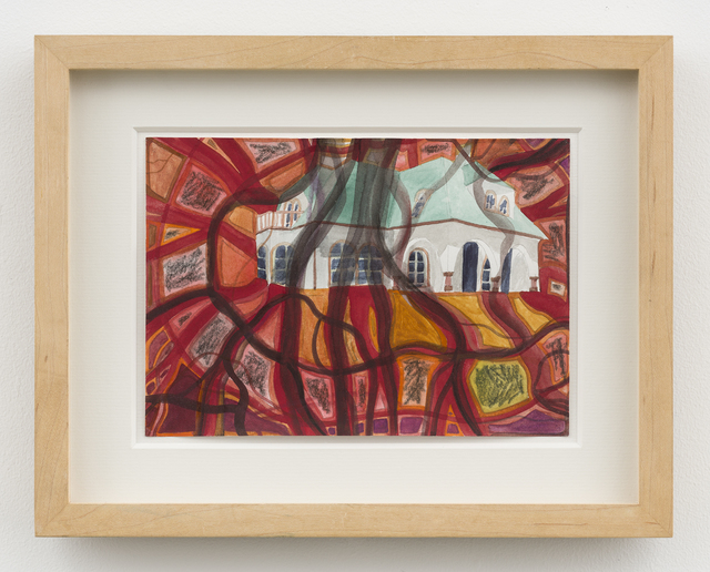 Franz Ackermann, 'Untitled (Mental Map: what happens in house #7)', 1994, David Nolan Gallery