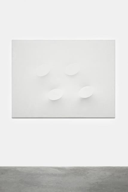 , 'Quattro ovali bianchi,,' 2009, Almine Rech