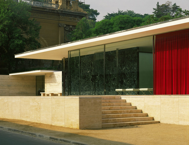 Ludwig Mies van der Rohe, 'German pavillion for the International Art Exhibit,' 1929, ARS/Art Resource