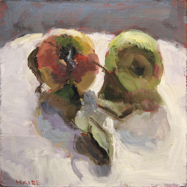 , 'Two Apples,' ca. 2018, Hofheimer Gallery