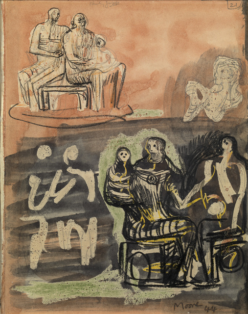 , 'Family Group,' 1944, Osborne Samuel