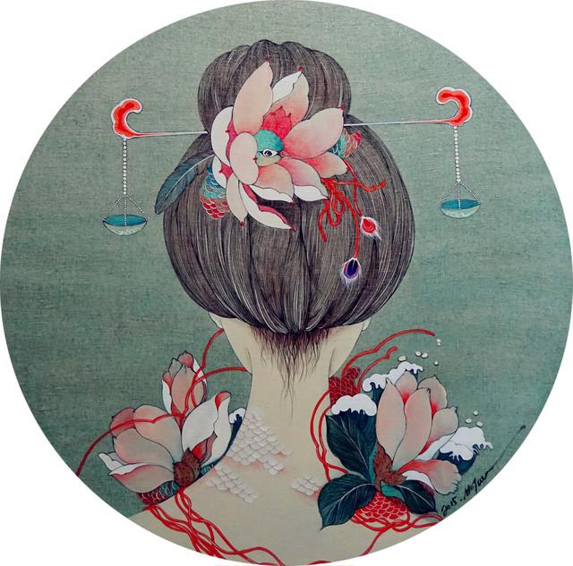 , '天枰座,' 2015, Hwas Gallery