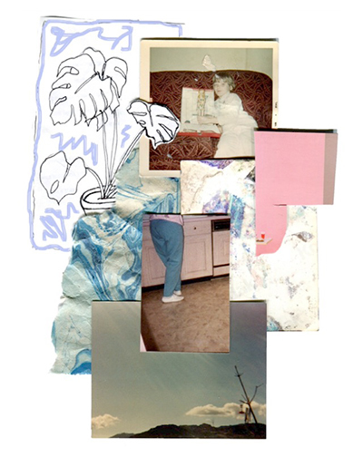 Ashley Campbell, 'sample collage #1, 2016, digital prints, 12 x 16 inches