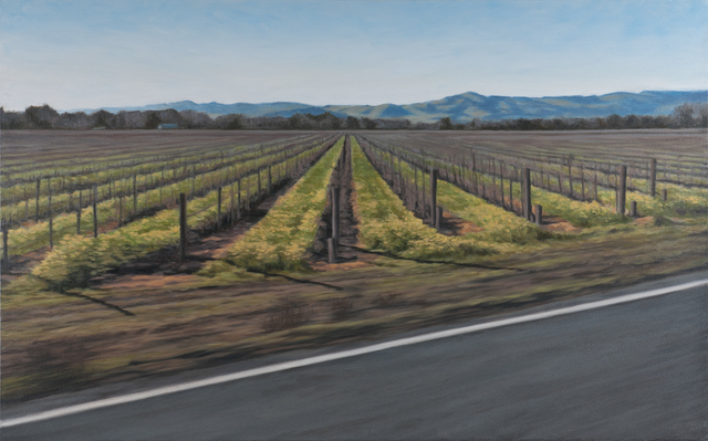 Jennifer Krause Chapeau, 'Vineyard in February', 2013, Mana Contemporary
