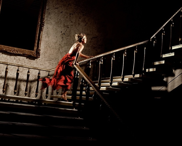 David Drebin, 'The Girl In The Red Dress', 2004, Photography, Digital C-Print, Isabella Garrucho Fine Art