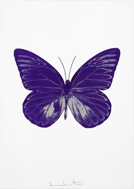 , 'The Souls I - Imperial Purple/Silver Gloss,' 2010, Paul Stolper Gallery