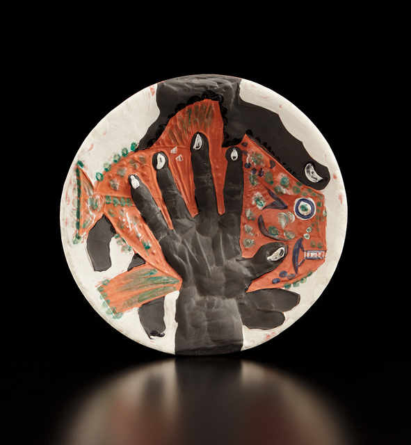 Pablo Picasso, 'Hands with fish (Mains au poisson)', 1953, Phillips
