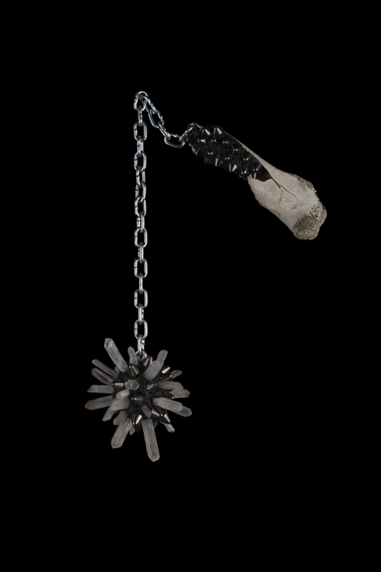 , 'Quartz and Bone Silver Mace of Protection,' , MAIA Contemporary