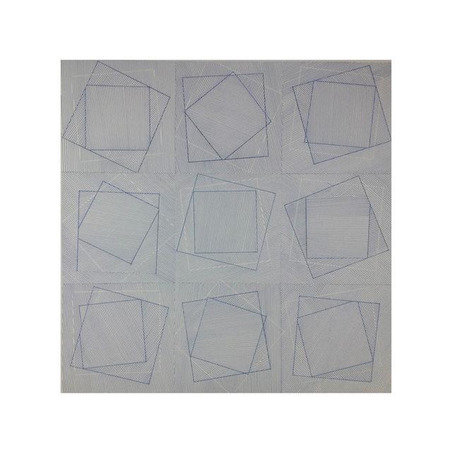 Alain-Jacques Lévrier-Mussat, 'Mouvements Vibratoires II ', 2018, Galerie La Ligne