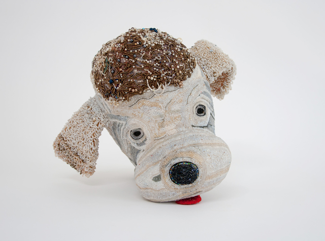 , 'POODLE HEAD,' 2014, Greg Kucera Gallery