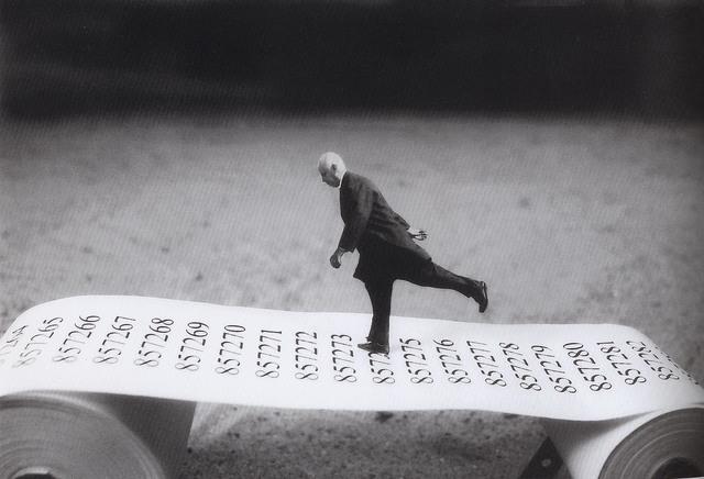 Gilbert Garcin, 'Aller-simple - One way', 2003, Photography, Gelatin silver print, Stephen Bulger Gallery
