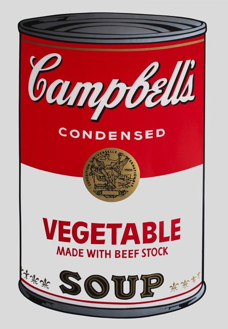 Andy Warhol, 'Campbell's Soup: Vegetable (FS II.48)', 1968, Print, Screenprint on Paper, Revolver Gallery