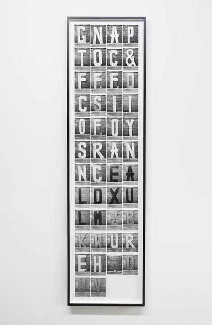 , ' Subject Lost,' , Altman Siegel