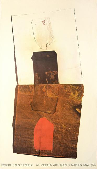 Robert Rauschenberg, 'Robert Rauschenberg's Vintage Poster', 1974, Wallector