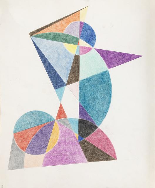 Böhm Lipót Poldi, 'Abstract composition', 1988, Kalman Maklary Fine Arts
