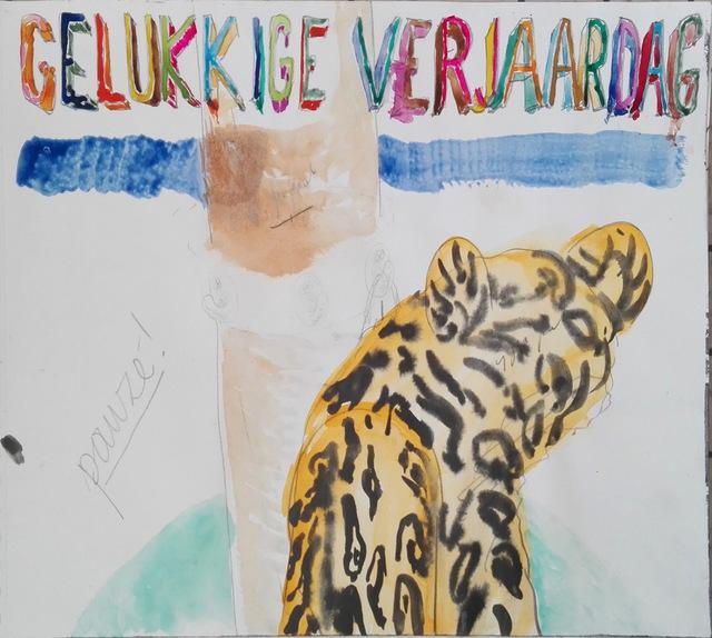 Klaas Vanhee, 'Untitled (gelukkige verjaardag)', 2019, Galería silvestre