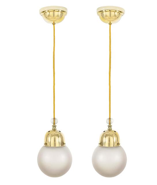 , 'Two Hanging Lamps,' ca. 1910, Galerie Bei Der Albertina Zetter