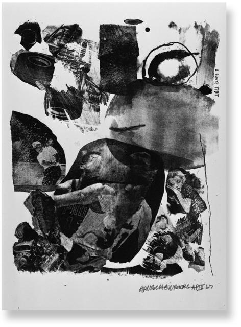 , 'Test Stone #1,' 1967, Gemini G.E.L. at Joni Moisant Weyl