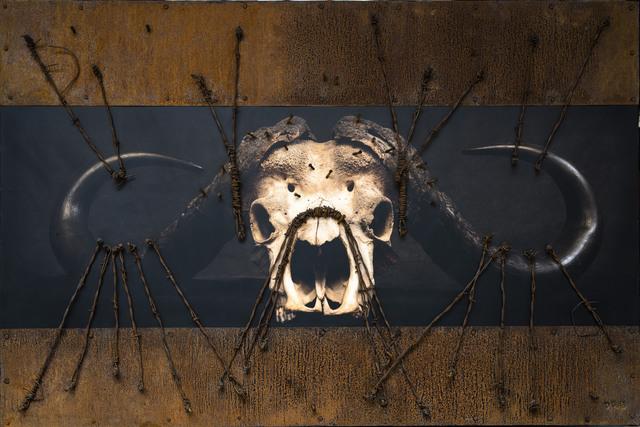 , 'Barbwire Buffalo,' 2016, Patricia Conde Galería