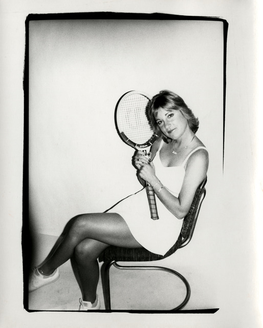 , 'Andy Warhol, Photograph of Chris Evert Lloyd circa 1986,' ca. 1986, Hedges Projects