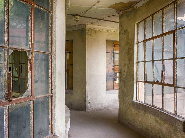 , 'Corridor to Isolation Ward, Ellis Island Hospital,' 2017, Soho Photo Gallery