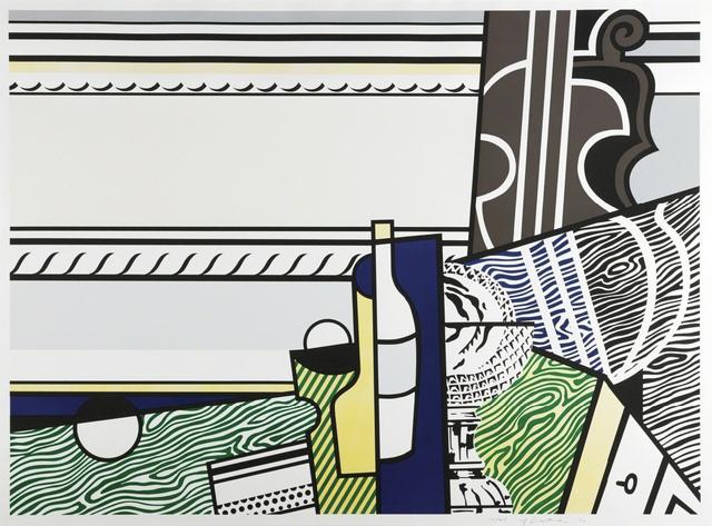 Roy Lichtenstein, 'Still Life with Crystal Bowl', 1976, Mary Ryan Gallery, Inc