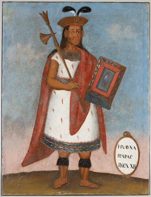, 'Portrait of Huayna Capac, Inca XII ,' 19th century, Musée du quai Branly