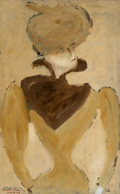 , 'Hildebrand (Portrait of a Woman in Hat),' 1941, Allan Stone Projects