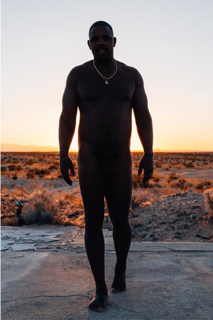 , 'Kunle at Sunset,' 2019, Albert Merola Gallery