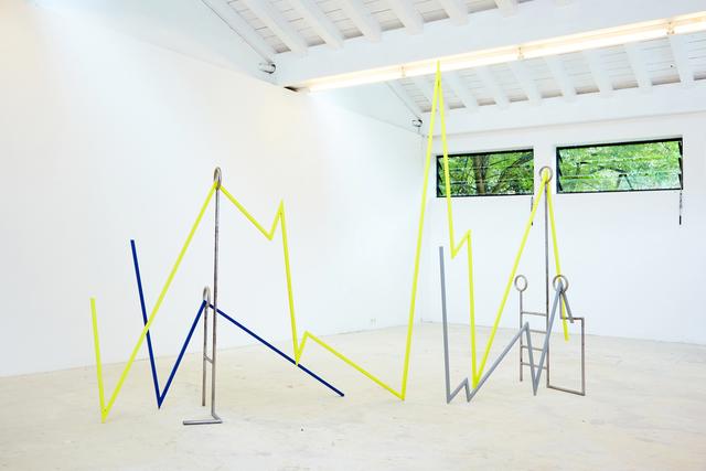 , 'Plant Stress Map,' 2018, Galerie Krinzinger