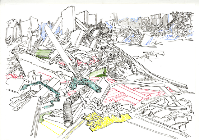 , 'Composition 6,' 2016, Galerija VARTAI