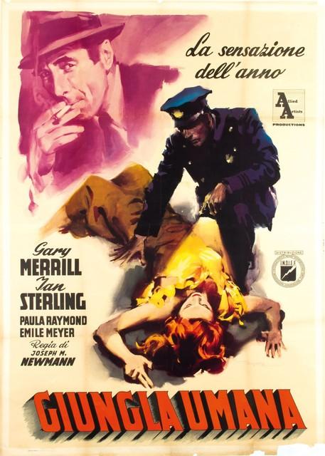 Enrico De Seta, 'GIUNGLA UMANA', 1953, Cambi