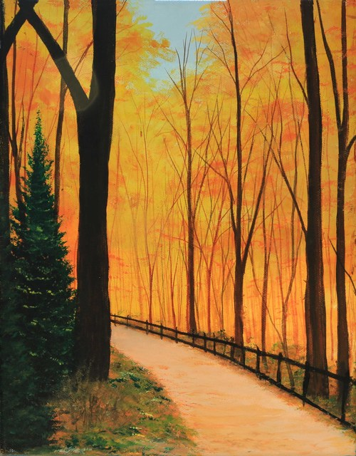 , 'Fall in New England,' , ArtLifting