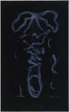 Claes Oldenburg, 'Study for Sneaker Lace-Black', 1991, Gemini G.E.L. at Joni Moisant Weyl