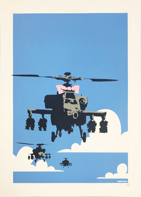 Banksy, 'Happy Chopper', 2004, Hamilton-Selway: Collector's Summer Preview