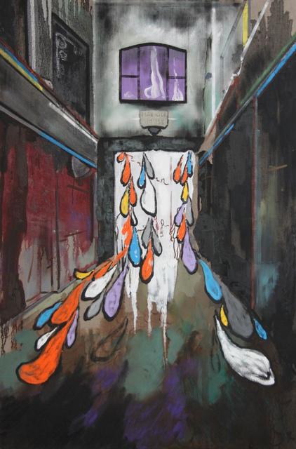 , 'Rainy night in Soho,' 2017, Ten Haaf Projects