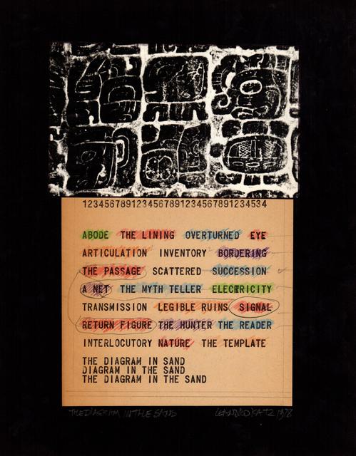 Leandro Katz, 'The Diagram in the Sand II', 1970, Henrique Faria Fine Art