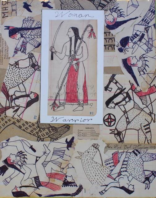 , 'Woman Warrior,' 2018, John Molloy Gallery