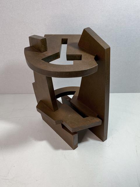 Iñigo Arregi, 'El silencio de la ventana', 2021, Sculpture, Patinated corten steel, Victor Lope Arte Contemporaneo