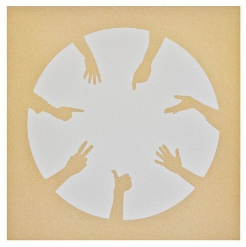 , 'Circle of Hands II,' 2013, Candida Stevens Gallery